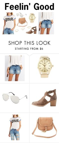 """Feelin' Good"" by charlotterusse ❤ liked on Polyvore featuring Charlotte Russe, stylesteal and CharlotteLook"