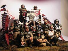 imperial guard diorama - Cadian