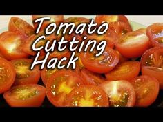 ▶ How to Cut Tomatoes Like a Ninja - Cooking Hack - YouTube