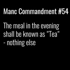 Manc commandment.