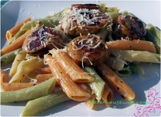 Sausage and Pasta in a Browned Butter Sauce - Fast & Easy Dinner