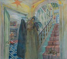 Richard Bawden - The Coat Stand Art Interiors, Coat Stands, Still Life, Original Artwork, Fine Art, Illustration, Artist, Prints, Painting