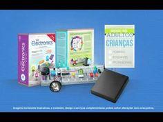 Kit Educativo de Eletronica - Kit de Eletronica para Adultos e Crianças, montar, aprender e se divertir