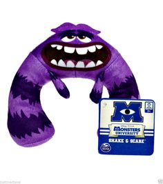 Disney Pixar Monsters University -  Plush Shake & Scare Art  - 36 mo - 6 years #Pixar  - $11.99 - June 19, 2014 - #FreeShipping