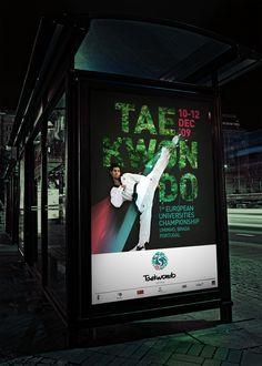 logo / taekwondo - fadu / aaum by gen design studio , via Behance