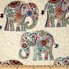 elephant - adorable quilt idea. Could be used for any animal shape