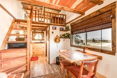 Peacock Tiny House on Wheels in Nevada for rent on Airbnb