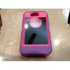 Otterbox Iphone 4 4s Defender Series Purple/pink Otter box... I wantttttttttttt