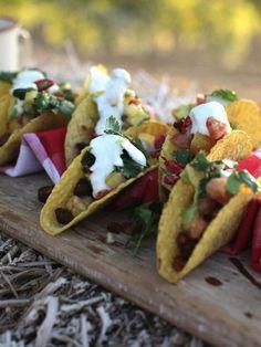 Festive fiesta tacos.....Jamies Festive Feast