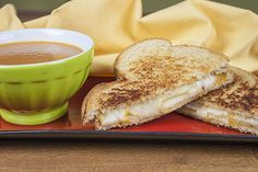 Habanero Grilled Cheese with Jalapeno-Tomato Soup