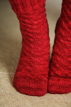 Ravelry: Uptown Boot Socks pattern by Jennifer L. Appleby