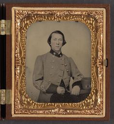 [Dr. Edmund Lewis Massie of Trans-Mississippi Department, Medical Staff Confederate States Infantry Regiment, in uniform]