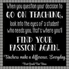 Teaching Passion