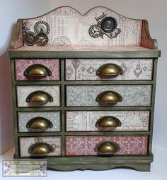Blog tonic: Verona creative storage project - a first Blog Tonic Post from Mandy