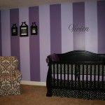Purple nursery!