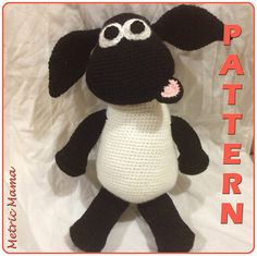 "Ravelry: Timmy Time - Timmy The Sheep 14"" pattern by Nicole Davis"