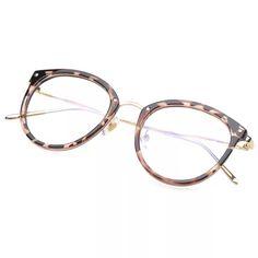 R  29.69 44% de desconto Óculos Óculos de Armação Moda Vintage Preto de  Metal Frame Ótico Óculos De Leitura Mulheres Óculos Frames Novo 2017 Oculos  SojoS em ... 620994f425
