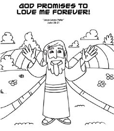 coloring pages showing gods love