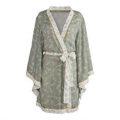 Gifts by Occasion: For Her Birthday-Entertain & Celebrate-Ideas & Tips-Inspiration | World Market Shopping World, Leaf Prints, Boho Dress, Kimono Top, Ivory, Clothes For Women, My Style, Celebrities, Color