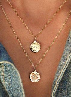 eb8a2eb1691 Satori Boho Star Medallion Coin Double Layered Statement Choker Necklace