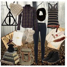 Hermione Granger Outfits In Deathly Hallows Part 1