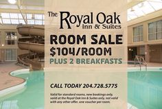 Are you heading to #Brandon for Canada Day? Stay with us between today and Sunday, July 5th for only $104 per room PLUS receive two complimentary breakfasts with this voucher! Give us a call to book: 204-728-5775