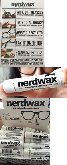 Eyeglass Straps and Cords 31287  Nerdwax -- Stop Slipping Glasses -- As Seen 2df1a014f8a