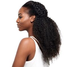 """Regal. // Get @asiyami_gold's look with our 'For Kurls' collection 24"""" (3 bundles). Available exclusively at heatfreehair.com. #forkurls #heatfreehair #protectivestyle Big Natural Hair, Natural Hair Care Tips, Natural Hair Styles For Black Women, Natural Curls, Natural Beauty, Heat Free Hairstyles, Protective Hairstyles, Protective Styles, Curly Hair Ponytail"""