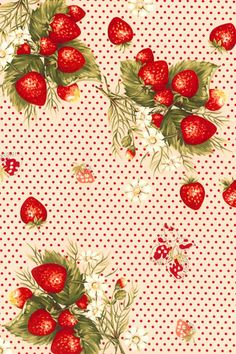 Strawberry pattern of cute strawberry pattern iphone wallpaper fashionable girls! : The wallpaper Lovely Sweet only towards women, wallpaper iphone fashionable and cute - Summary NAVER