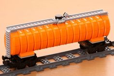 lego train 100 ton oil tank | Flickr - Photo Sharing!