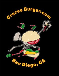 Crazee Burger, San Diego - Amother great burger joint in San Diego...it it crazy!