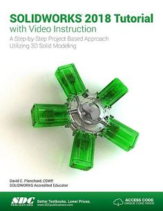 Buy or Rent SOLIDWORKS 2018 Tutorial with Video Instruction as an eTextbook and get instant access. With VitalSource, you can save up to compared to print. Project Based Learning, Textbook, Ebooks, Coding, Cad Cam, David, Ebook Pdf, Computers, Language