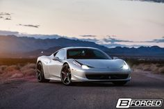 458 Italia on B-Forged 500 Wheels