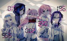 Girls in Darling in the Franxx Magical Warfare, The Famous Five, Mahouka Koukou No Rettousei, Fanart, Zero Two, Best Waifu, Darling In The Franxx, Animes Wallpapers, Kokoro