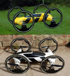 The radio control flying car hybrid breaks all the boundaries of conventional r/c cars as they dominate both land and air. The flying car features a sleek...