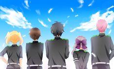 Pixiv Id 9525287, Owari no Seraph, Hiiragi Shinoa, Hyakuya Yuuichirou, Saotome Yoichi, Kimizuki Shihou