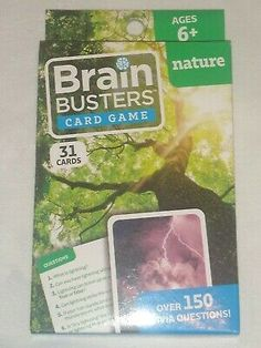 Brain Busters HumanBody Card Game 31 Cards Over 150 Trivia Questions Age 6 for sale online | eBay