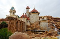 Prince Eric's Castle in the Fantasyland Expansion Photo ©Disney