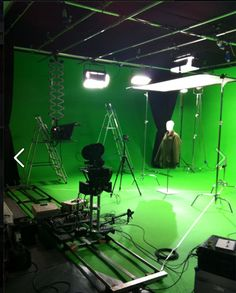 Studio C - Green Screen Sound Stage Sound Studio, Studio C, Studio Green, Video Studio, Film Studio, Studio Setup, Studio Ideas, Production Studio, Video Production
