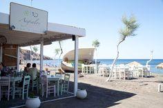 Aegialos restaurant in Fira, Santorini, Greece http://www.aegialos-beach.com/santorini-restaurant