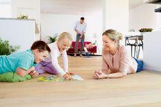Homeplaza - Parkett-, Laminat- und Designböden optimal reinigen und pflegen - Kein Hexenwerk!