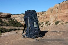 """The Gear Junkie put the Aether 60 from Osprey Packs to the test and was impressed by the """"slick suspension system and comfortable shoulder harness"""""""