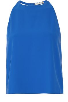 ALICE + OLIVIA Clement Cutout Crepe And Gauze Top. #alice+olivia #cloth #top