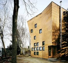 AMASSING DESIGN: NAIL COLLECTOR'S HOUSE - STEVEN HOLL ARCHITECTS
