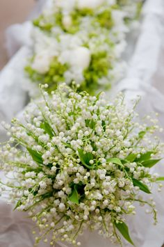 Lily of the Valley Wedding Bouquet White Wedding Flowers, Floral Wedding, Wedding Bouquets, Bridesmaid Bouquet, Bridesmaids, Perfect Wedding, Dream Wedding, Wedding Day, Wedding Decor
