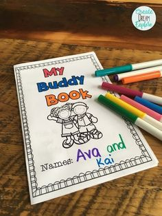 20 Activities To Do With Reading Buddies or Big/Little Buddy Time - Create Dream Explore