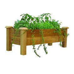 48 in. x 18 in. Rustic Cedar Planter Box, Unfinished Cedar