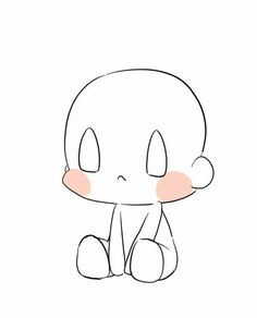 How to draw a cute puppy Anime Drawings Sketches, Kawaii Drawings, Cute Drawings, Chibi Sketch, Anime Sketch, Chibi Drawing, Baby Drawing, Chibi Body, Chibi Anime