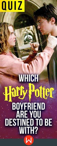 A personality quiz that finds out which wizard in the world of Harry Potter people are destined for, from Neville Longbottom to Harry Potter himself.