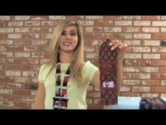Using Silk Ties to Create Beautiful Scarves by PAT STATZER.wmv - YouTube
